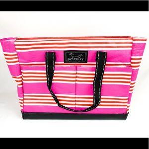 Scout Uptown Girl Multi-Pocket Zipper Tote Bag